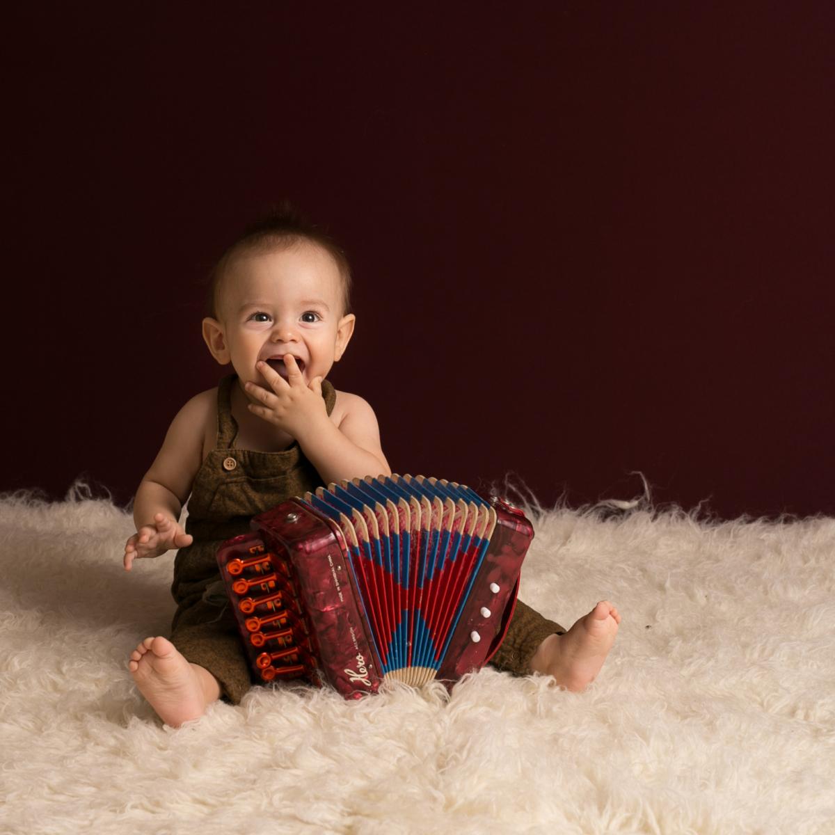 Poze cu acordeonul